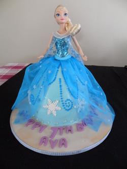 Queen Elsa Cake Design : Characters cakes - Bathurst Cakerella